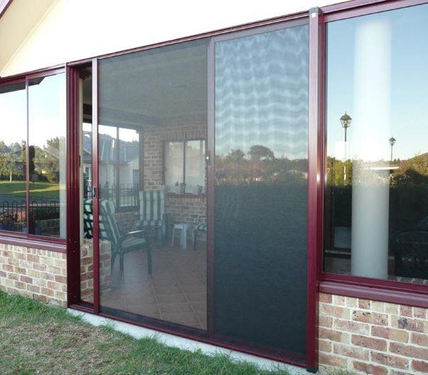 Retractable Security Doors
