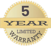 5 year warranty - Freedom Retractable Screens