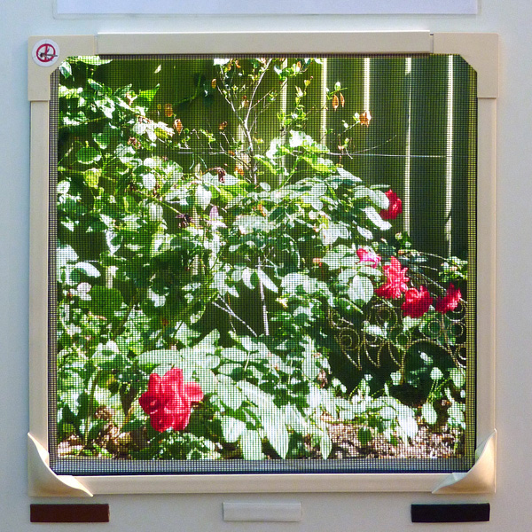 Custom Retractable Window Screens