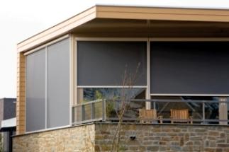 Motorised Exterior Vertical Screens