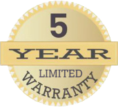 5 year warranty - Freedom Retractable Screens